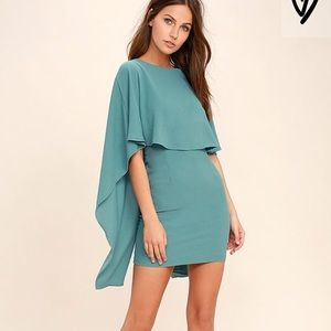 Lulus cape dress